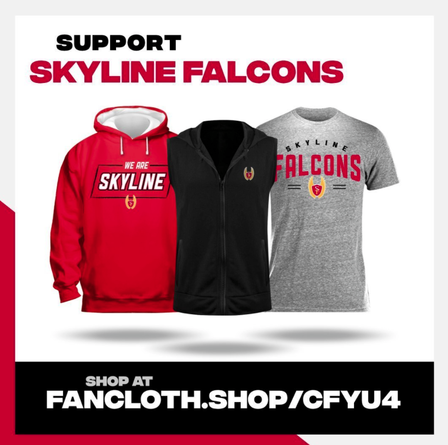 Support Skyline Falcons!  Shop at fancloth.shop/cfyu4